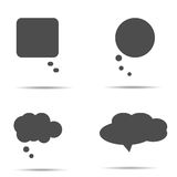 Flat design style. Set of icon. Made in vector Stock Photography