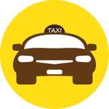 Flat design of Taxi car Stock Photo