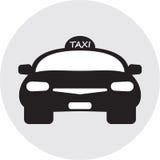 Flat design of Taxi car Stock Photos