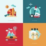 Flat design vector concept illustration Stock Photos