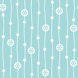 Flat design winter seamless vector pattern Stock Photo