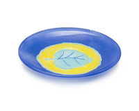 Flat dish Stock Image