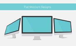 Flat Displays Royalty Free Stock Photos