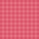 Flat easy tilable red gingham repeat pattern print. Seamless background, wallpaper with fabric texture visible. Vector illustration EPS10 stock illustration