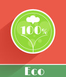 Flat ecology concept Stock Photos