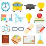 Flat Education Icon Royalty Free Stock Image