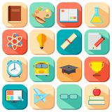 Flat Education Icon Royalty Free Stock Photo