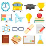 Flat Education Icon Royalty Free Stock Image