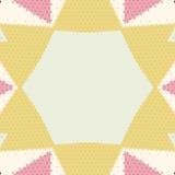 Flat ethnic seamless pattern. Stock Photography