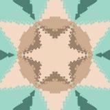 Flat ethnic seamless pattern. Royalty Free Stock Photos