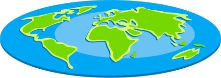 Flat Globe Royalty Free Stock Images