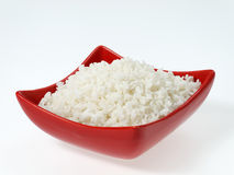Flat grain. Rice dish cooked in the studio Stock Image