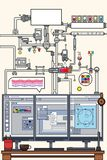 Design Scheme Vector Flat Art vector illustration