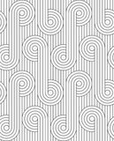 Flat gray with circles with continues lines Stock Images