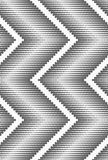 Flat gray with halftone textured chevron Royalty Free Stock Photography