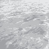 Flat gray sea Stock Photos