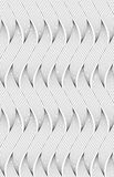 Flat gray with wavy hatched shapes Stock Images