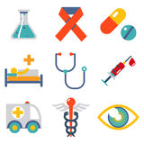 Flat Health and medical Stock Images