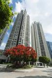 Flat in Hongkong royalty-vrije stock afbeeldingen