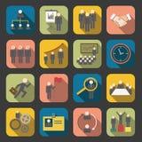 Flat human resource icon royalty free illustration