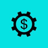 Flat Icon Royalty Free Stock Photography
