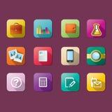 Flat icon Royalty Free Stock Photos