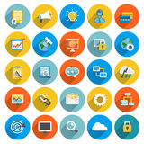 Flat icon business Stock Image
