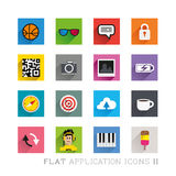 Flat Icon Designs & Symbols Stock Photography