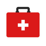 Flat icon first aid. Royalty Free Stock Photography