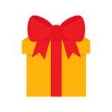 Flat icon gift Stock Image
