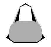 Flat icon. Lady`s bag Stock Photos