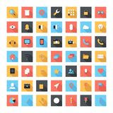 Flat icons Stock Photo