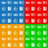Flat icons for online store Royalty Free Stock Image