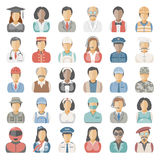 Flat Icons - People Stock Images