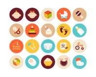 Flat icons set 27 Royalty Free Stock Images