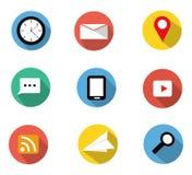 Flat icons Stock Image