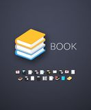 Flat icons set 21 Royalty Free Stock Image