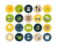 Flat icons set 26 Royalty Free Stock Photography