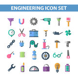 Flat icons Stock Photos