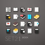 Flat icons set 21 Royalty Free Stock Photo