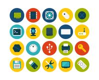Flat icons set 13 Stock Images