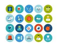 Flat icons set 19 Stock Image
