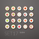 Flat icons set 17 Royalty Free Stock Image