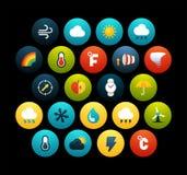 Flat icons set 23 Royalty Free Stock Photos