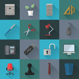 Flat icons. Various flat icons. File is in eps10 format Royalty Free Stock Photos