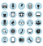 Flat icons for web design Royalty Free Stock Image