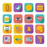 Flat icons for Web Design set 2 Stock Photo