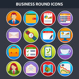 Flat icons for Web and Mobile App Royalty Free Stock Photos