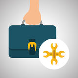 Flat illustration about achievement design Royalty Free Stock Photography