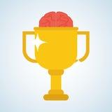 Flat illustration about achievement design Stock Image